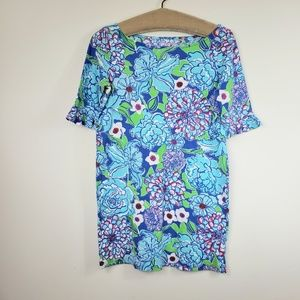 Lilly Pulitzer Somerset ruffle sleeve floral dress